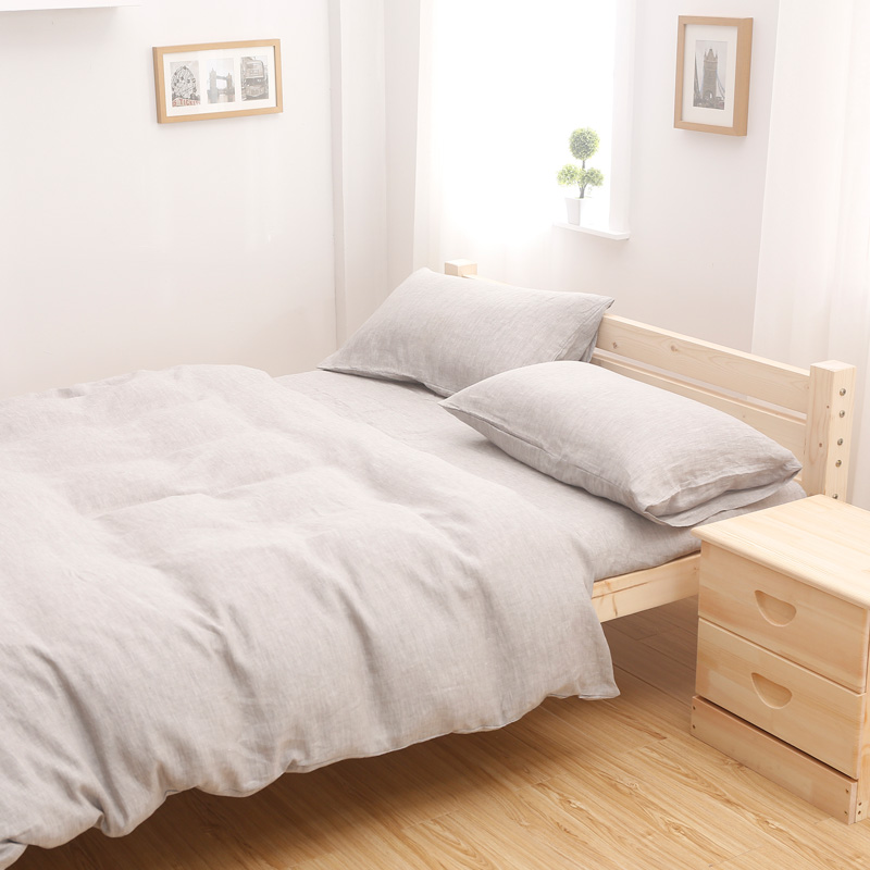 OEM Factory Direct Source Customized Washed Linen Sheet Sets 1