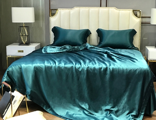Super Soft and Silky Satin Sheet Set (Solid/Deep Pocket) (Queen, Teal)