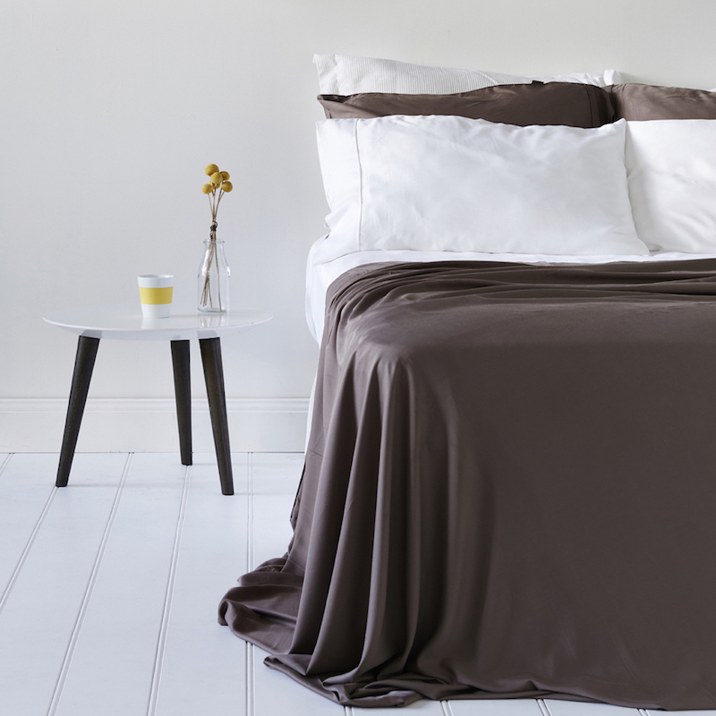 Bamboo Sheets, Fitted & Flat Sheets - Silky, Cool, Breathable, Naturally Organic, Coolest Sheets Material 2