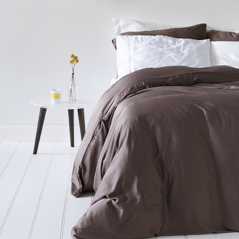 Bamboo Sheets, Fitted & Flat Sheets - Silky, Cool, Breathable, Naturally Organic, Coolest Sheets Material 1