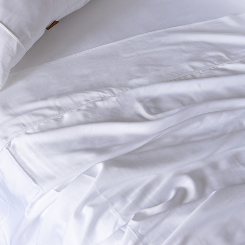 100% Bamboo Lyocell Sheet Set Queen Size Silky Luxury Like Sleeping in a Cloud - Softest Sheets in the World 4